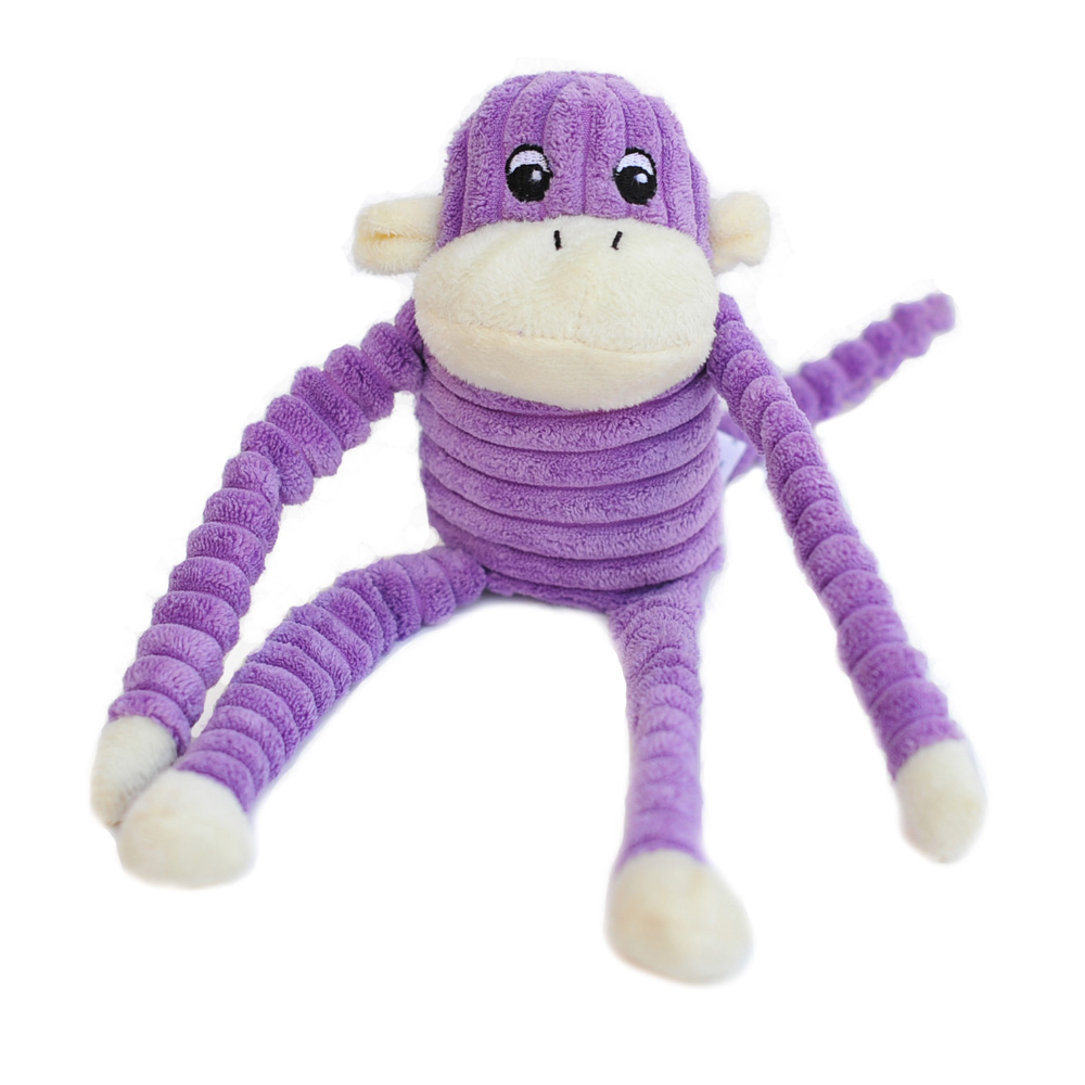 Spencer the Crinkle Monkey - Small Purple-0