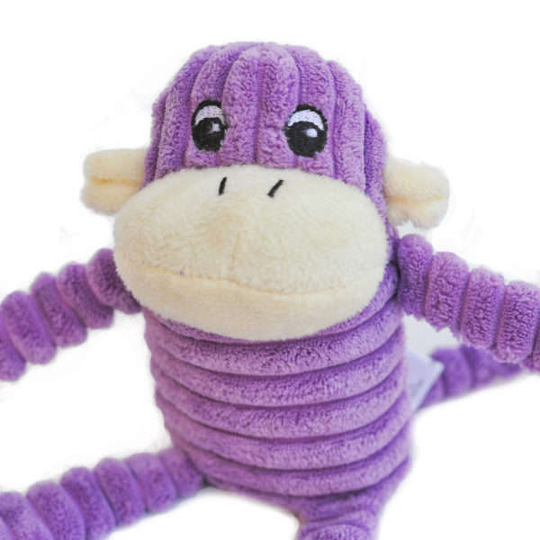 Spencer The Crinkle Monkey - Small Purple Image Preview 4