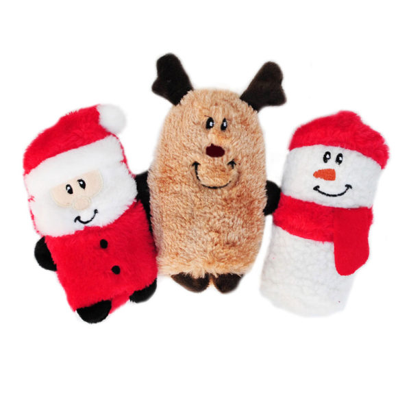 Holiday Squeakie Buddies - Pack Of 3 Image Preview 2