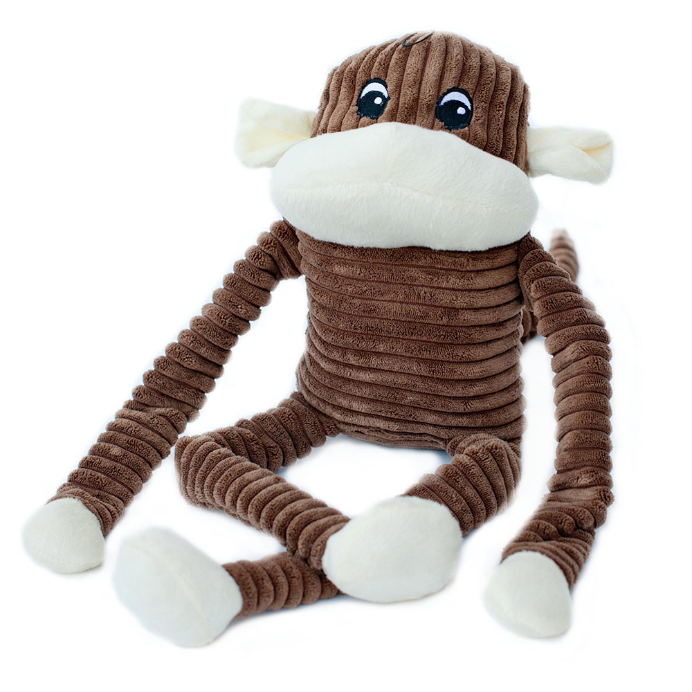 Spencer the Crinkle Monkey - XL Brown-0
