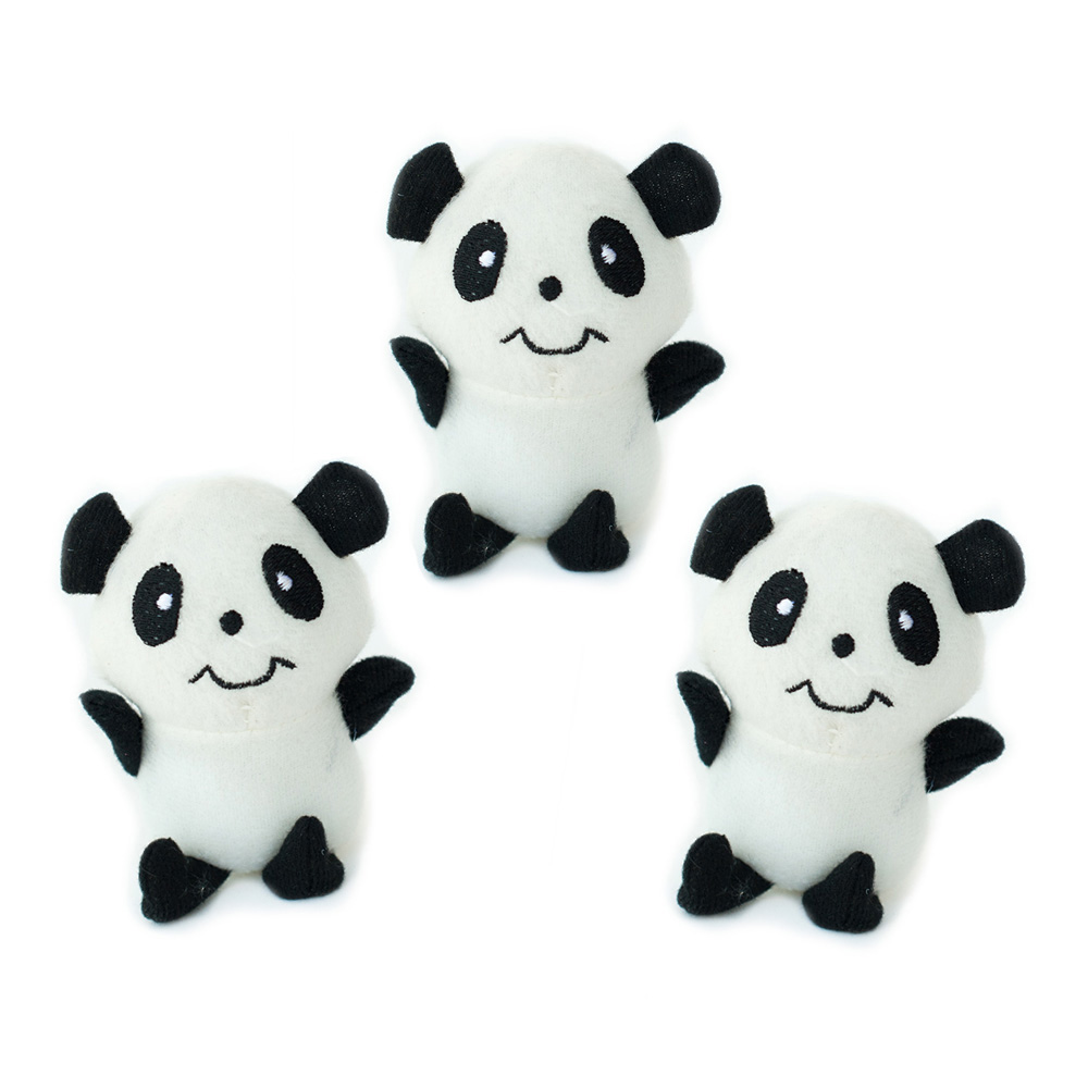 Miniz 3-Pack Pandas-0