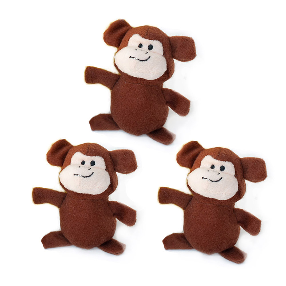 Miniz 3-Pack Monkeys-0