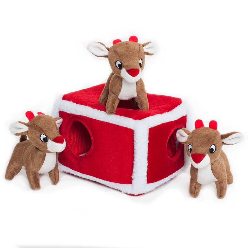 Holiday Zippy Burrow - Reindeer Pen-0