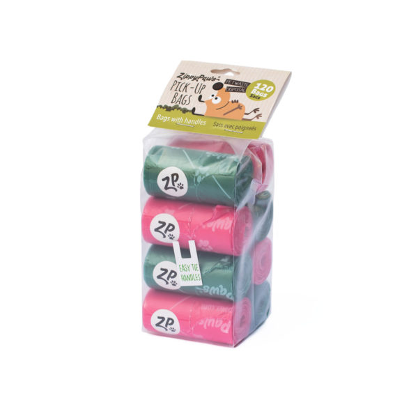 ZippyPaws Pick-Up Bags On Rolls, 120-count Image Preview 4