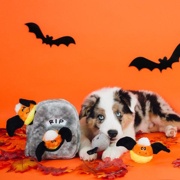 Halloween Zippy Burrow - Spooky Gravestone Image Preview 1