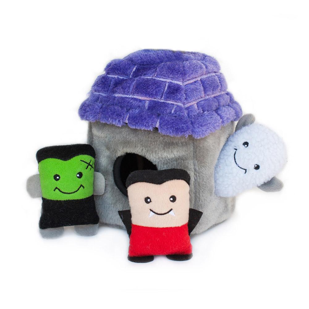 Halloween Zippy Burrow - Haunted House-0