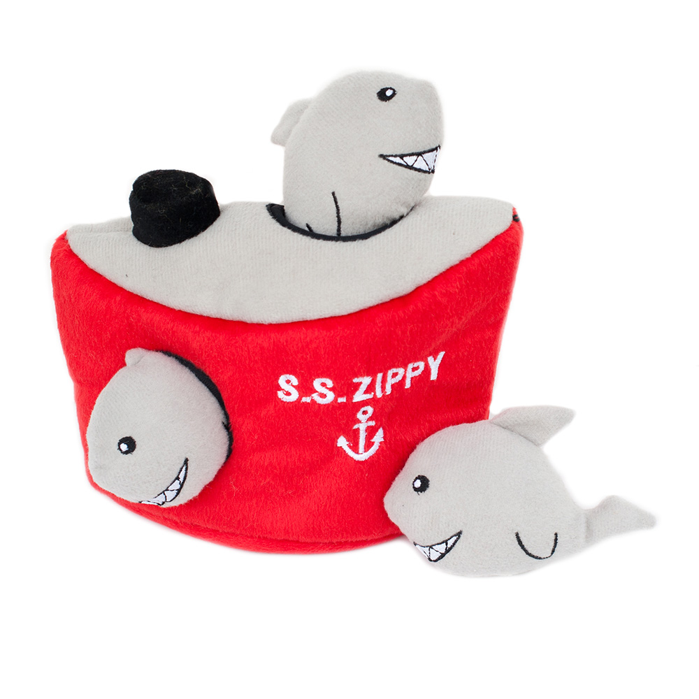 Zippy Burrow - Shark 'n Ship-0