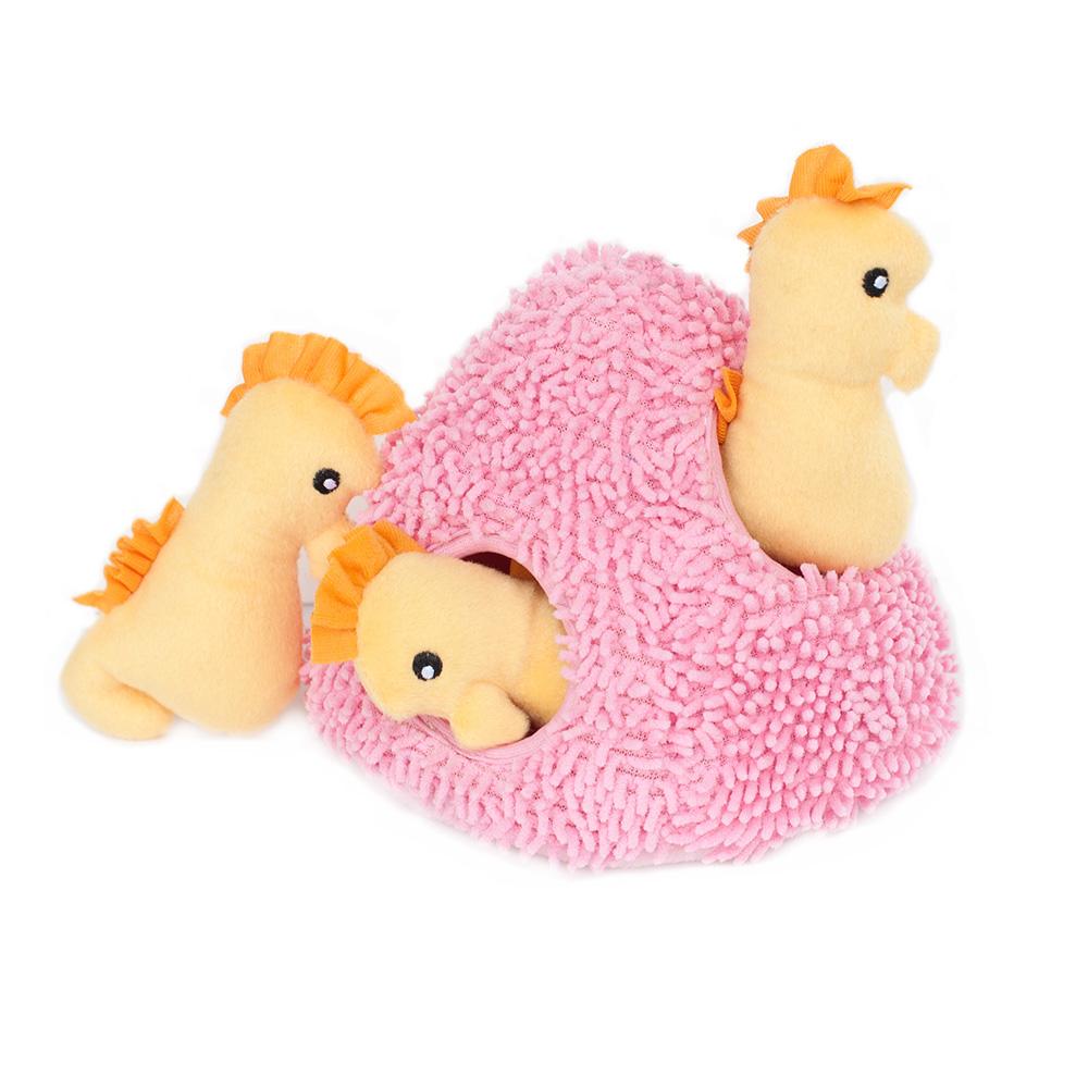 Zippy Burrow - Seahorse 'n Coral-0