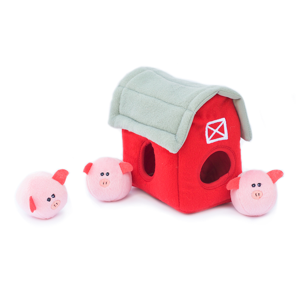Burrow Pig Barn with Bubble Babiez-0