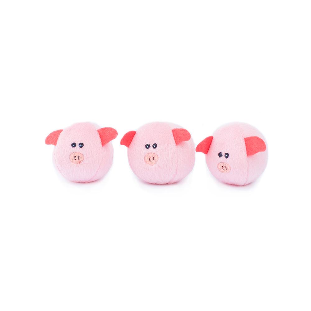 Miniz 3-Pack Bubble Pigs-0