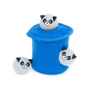 Burrow Raccoons in Trash Can with Bubble Babiez-0