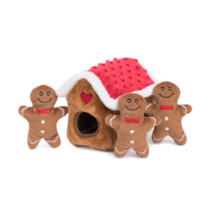 Holiday Zippy Burrow - Gingerbread House-0