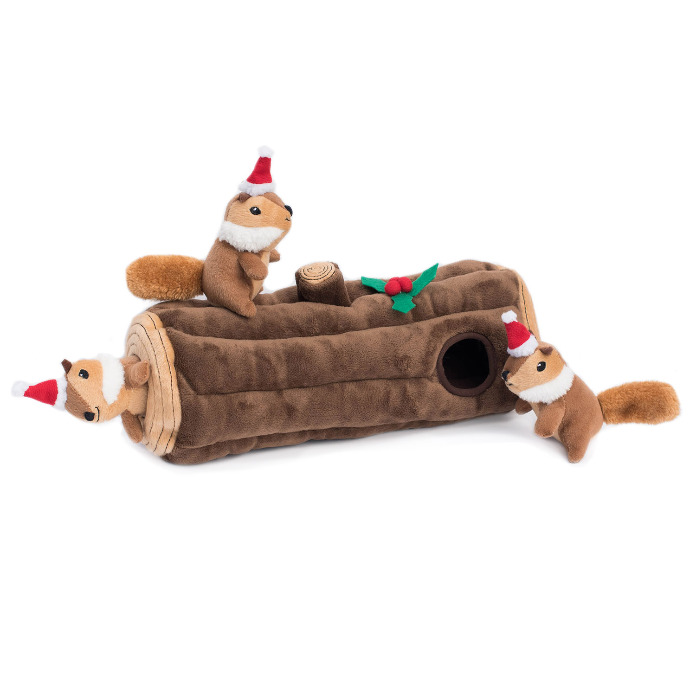 Holiday Zippy Burrow - Yule Log-0