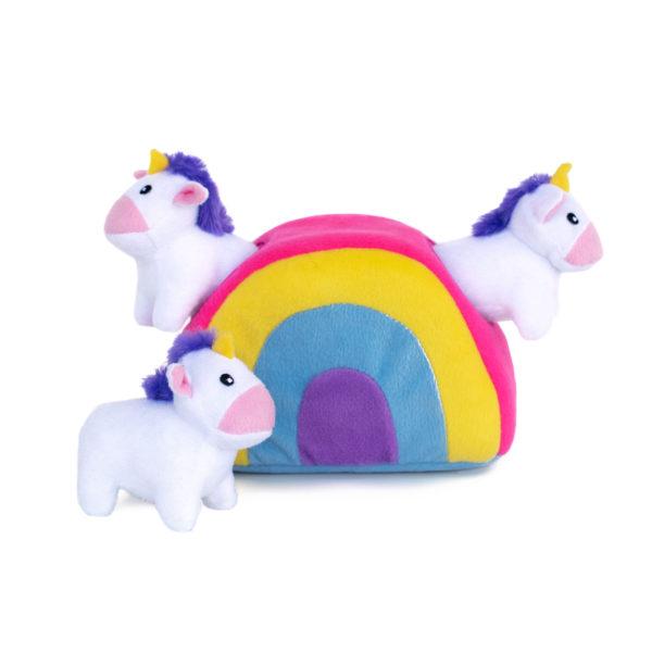 Zippy Burrow – Unicorns in Rainbow