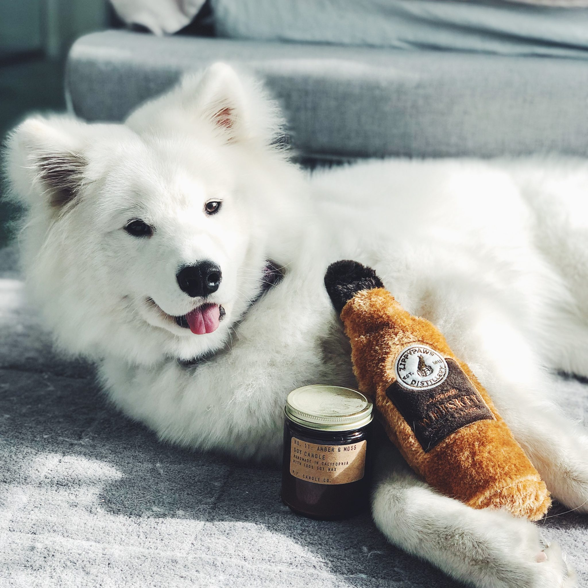 Happy Hour Crusherz - Whiskey model for dogs